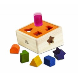 Wonder World Natural Shape Sorter