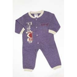 Budding Baby Anti-Mosquito Apparel Long Sleeve & Long Pant Boy - Purple