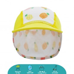 'Cheekaaboo Legionnaire Hat (Pineapple) - Summer Paradise'