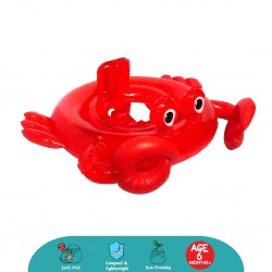 'Cheekaaboo Scarlet Crabby Baby Swim Float'