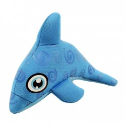 Cheekaaboo Mini Neoprene Toy - Dolphin