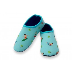 Cheekaaboo Beach Socks - Surfer (Summer Paradise)