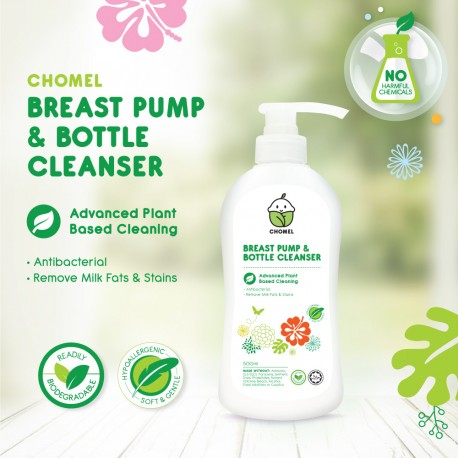 Chomel Breast Pump And Bottle Cleanser - 500ML (CPABC-500ML)