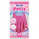Showa Petit Flock Lined PVC Household Gloves (XS Size)