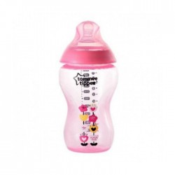 'Tommee Tippee Tinted Bottle 340ml (Pink)'