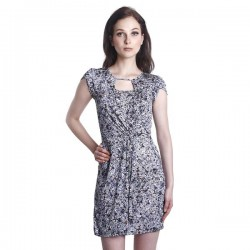 Fabulous Mom Chantal Nursing Dress (Grey)