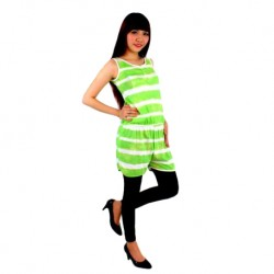 'Fabulous Mom Josie Nursing Jumpsuit (Lime)'