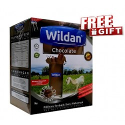 Wildan Goat's Milk (Chocolate) 1kg(Free Gift)
