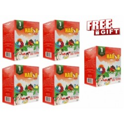 Habib Susu Kambing Extra Asli Super - 5 Kotak with (Free Exclusive Gift)