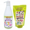 Bumble Bee Baby Safe Liquid Cleanser Twin Pack