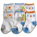 Bumble Bee 3 Pair Pack I Love Mommy Socks (S0040)