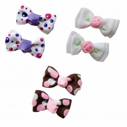 Bumble Bee Elegant Hair Clips (3 packs) Design 7