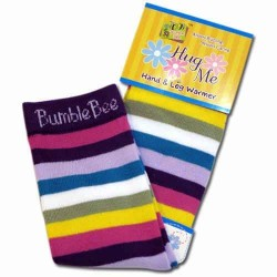 Bumble Bee Hand & Leg Warmers - Purple Dream (HLM0010)