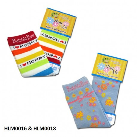 Bumble Bee Hand & Leg Warmers (2 packs) (HLM0016 & HLM0018)