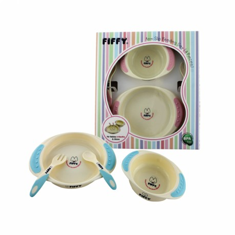 Fiffy Baby Feeding Set (4 pcs)