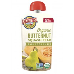 Earth's Best Organic Butternut Squash Pear Puree (6mth+)
