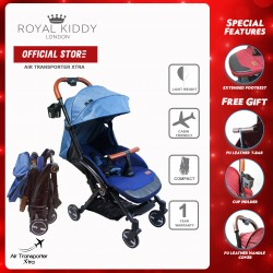 Royal Kiddy London Air Transporter Xtra Blue (Light Weight Stroller)