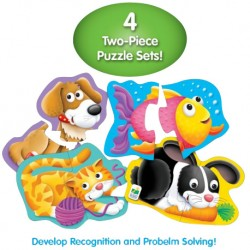 TLJI My First Shaped Puzzles - Pets