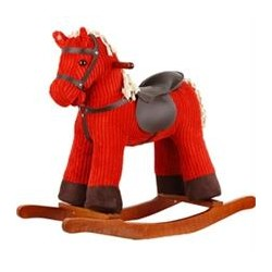 Marvellous Fun Jolly Red Rocking Horse