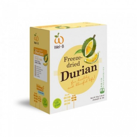 Freeze Dried Durian (2 boxes)