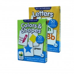 TLJI See & Say Flashcards se -  (Colors & Shapes + Letters)