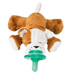 Nookums Paci-Plushies Shakies - Barkley Bull Dog
