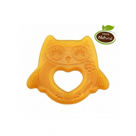 Haakaa Natural Rubber Teether (Smile Shape)
