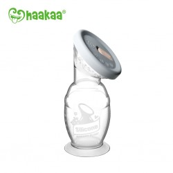 Haakaa COMBO Silicone Breast Pump (100ml) & Silicone Cap