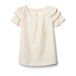GAP Ruffle sleeve top (7323900121824)