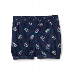 GAP Print Poplin Bubble Shorts (7109460122000)