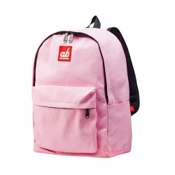 ab New Zealand Simplicity Pink Kids Canvas Backpack