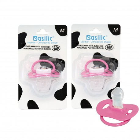 Basilic Orthodontic Soother Medium - 2 Pieces