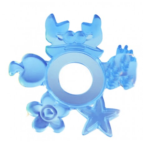 Basilic Silicone Teething Ring D079