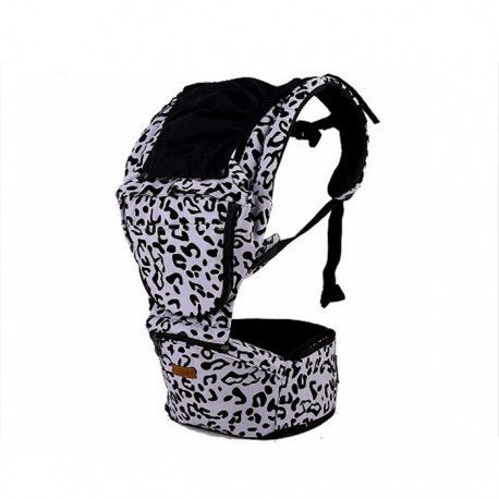 Holabebe JerryBaby Baby Hipseat Carrier - Leopard Grey