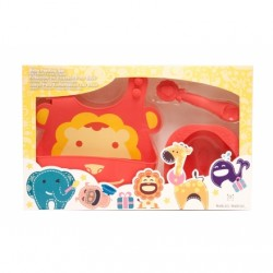 Marcus & Marcus Baby Feeding Starter Set (Red Marcus)