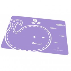 Marcus & Marcus Silicone Placemat (Purple Willo)