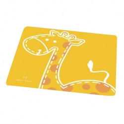 Marcus & Marcus Silicone Placemat (Yellow Lola)