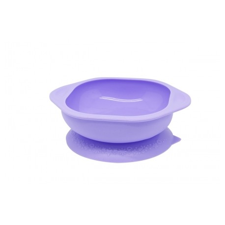 Marcus & Marcus Silicone Suction Learning Bowl (Purple Willo)