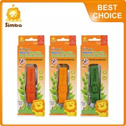 Simba Citronella Mosquito Repellent  Bracelet (1 Pieces) Yellow