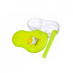 Simba Baby Food Grinder / Storage Case Set - Green