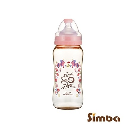 Simba Dorothy Wonderland PPSU Feeding Bottle-Wide Neck 360ml-Blue