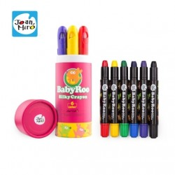 Joan Miro Babyroo Silky Washable Crayon - 6ct