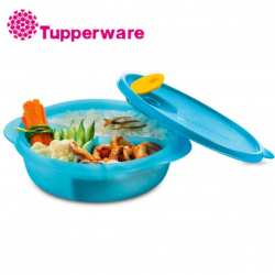 Tupperware Crystalwave Divided Dish -900ml (Blue)