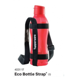 Tupperware ECO Bottle 1L strap (Black) 1pcs