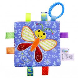 Ichiro Baby Touch and Feel Toy (Butterfly)