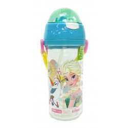 Disney Frozen Summer Love 600ML Tritan Bottle With Straw