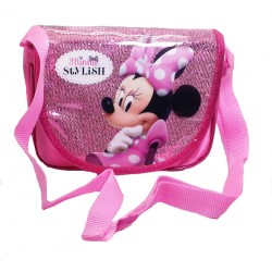 Disney Minnie Mouse Sparkling Stylish Sling Bag