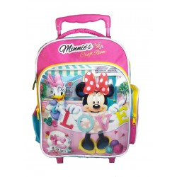 Disney Minnie Mouse Craft Room Pre-School Trolley Bag