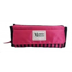 Disney Minnie Mouse Logo Pencil Bag With Pocket