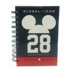 Disney RETRO MICKEY A6 150'S Spot UV NoteBook-A